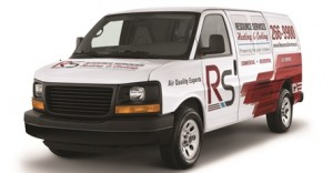 Angled Resource Services Van