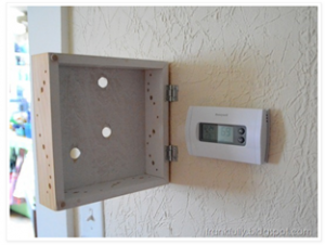Frankfully- thermostat cover- box with holes