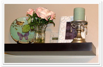 Myloveofstyle - floating shelves